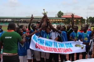 BRIDGES Cup Finals Boys Champions. -Lagos 2015