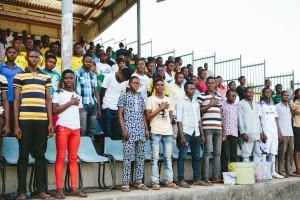 Big crowds at BRIDGES Cup Semi-Finals. -Osun State 2013