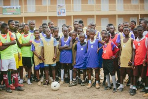 Participants in our first ever Save-A-Thon community clinic. -Osun State 2013